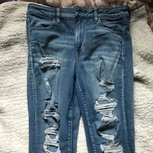 AE High Rise Jegging size 12